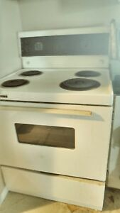 Fridge, Stove, Washer, and Dryer