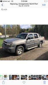 2002 Chevy avalanche 4 x 4