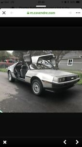 1983 Delorean Canadian Spec. -9566km « Mint »