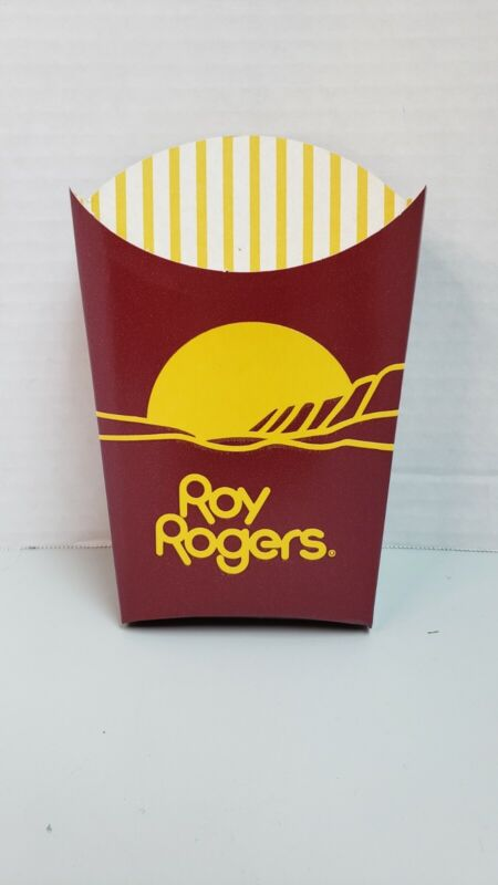 Rare Roy Rogers Restaurant French Fry container