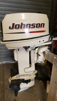 30hp outboard Johnson