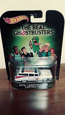 Hot Wheels Retro Entertainment The Real Ghostbusters Cartoon Ecto 1