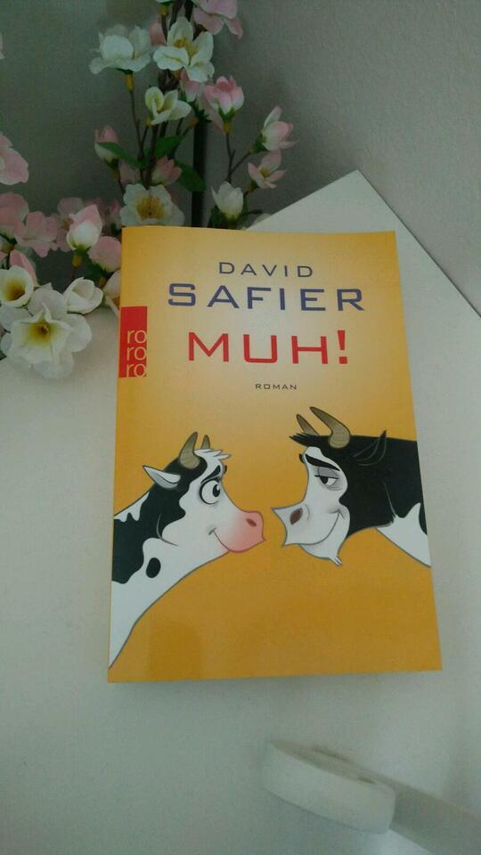 "NEU Buch: ""MUH!"" David Safier in Hannover"