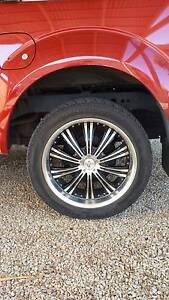 Set of 4 275x45 R20 Wheels and Tryes Hamley Bridge Wakefield Area Preview