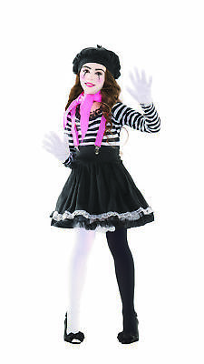 Party King Mesmerizing Mime Child - Child Mime Costume