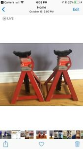 2 Ton Jack Stands $25