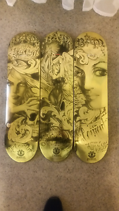 Limited edition kat von d and bam skateboard South Geelong Geelong City Preview