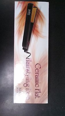 Ceramic Flat Hairstyling Flat Iron, Magic Beauty Care , 1 Inch