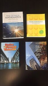 Mohawk College books (architecture)