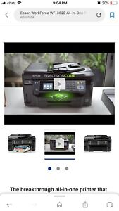Epson printer workforce  WF 3620