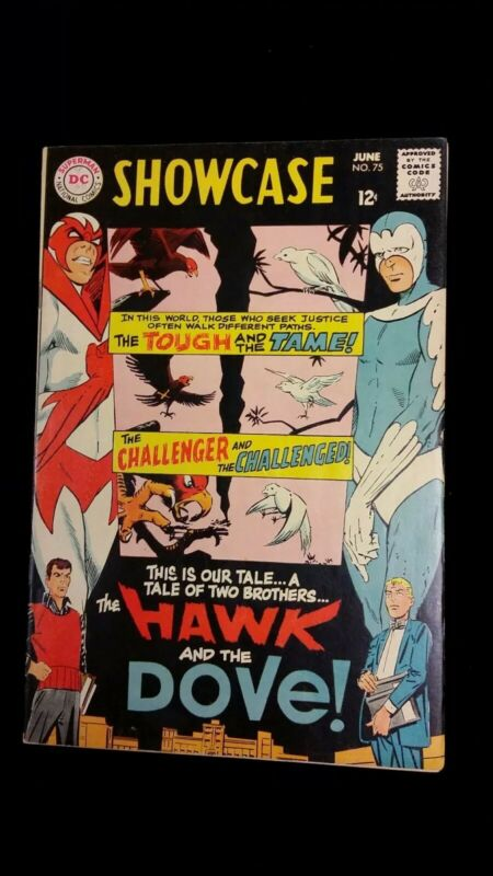 Showcase #75 Very Fine 1st Appearance of Hawk and Dove! Titans TV Show!