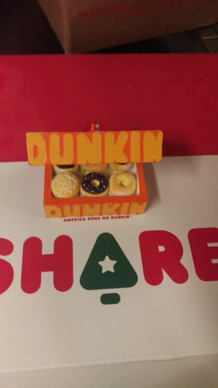 Dunkin donuts christmas ornaments