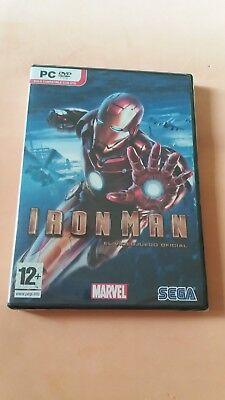 Iron Man, Juego PC, Nuevo y Precintado, Español.