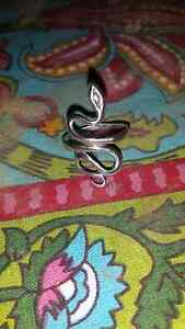 Sterling silver snake ring Hillcrest Logan Area Preview