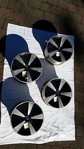 Full set (4) *machined* 18inch rims from Holden Monaro CV8R CV8-R Fraser Belconnen Area Preview
