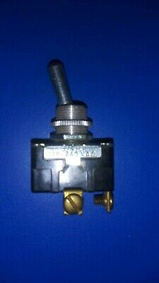 Vintage Toggle Switch 10a 250v Or 15a 125v