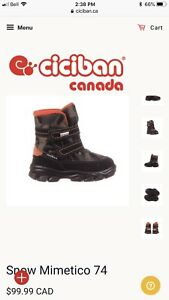 Ciciband Winter boots size 22