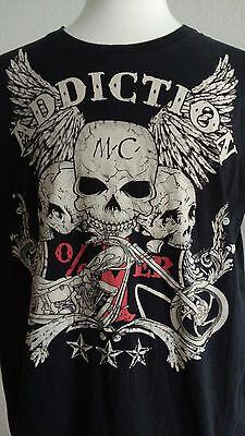 (Addiction Black Men's T-Shirt Sz XL)