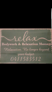 Bodywork & Relaxation Mobile Massage Southern River Gosnells Area Preview