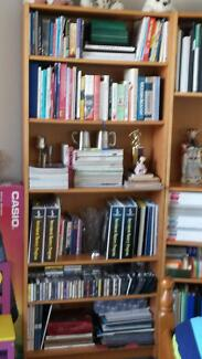 MUST BE SOLD - 1 WEEK 2 Bookshelves n 2 with Glass n 2 CD Racks Tempe Marrickville Area Preview