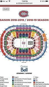 Montreal Canadiens tickets billets