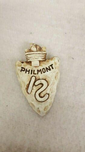 Vintage 1950s Philmont Scout Ranch Arrowhead Neckerchief Slide Boy Scouts Camp