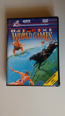 World Games Commodore 64  for sale  Shipping to Nigeria
