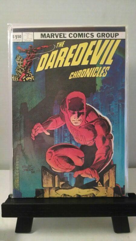 Daredevil Chronicles # 1 Frank Miller History of Daredevil Fantaco 1982 Elektra