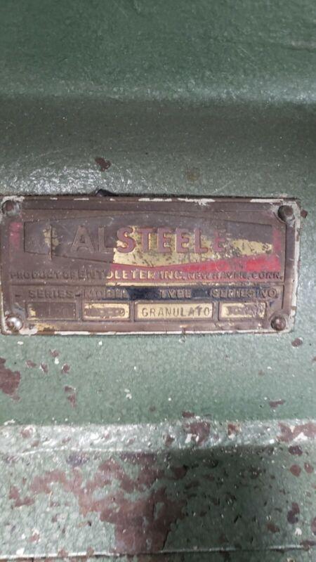 Alsteele 10x12 Plastic Granulator Grinder Shredder in good working condition