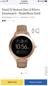 Fossil Q Venture Gen 3 Smartwatch