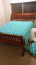 VERY SOLID & HEAVY QUEEN BED FRAME NEAR NEW CONDITION Broadbeach Waters Gold Coast City Preview