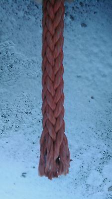 "Samson red rope 5/8"" (used) 190ft."
