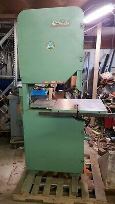 Northfield 27 Band Saw Rebuilt New Tires Runs Well. Will Ship
