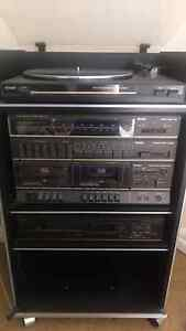 Old school stereo system incl. record player Hawthorn Boroondara Area Preview