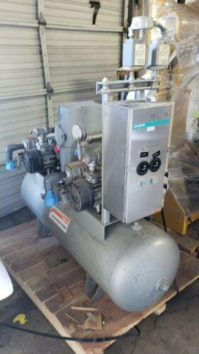 Busch RC0025-E506-1004 Dual Vacuum Pump 40CFM 15 Torr System with Tank