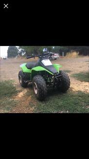 Kawasaki quad bike