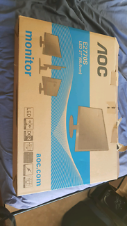 Brand new 27 aoc gaming monitor brought for $400