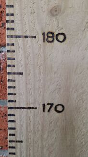Wooden growth ruler / growth chart Kewdale Belmont Area Preview