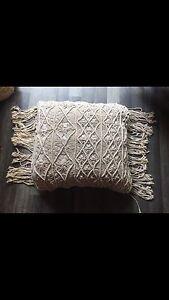 Macrame tassel cushions Bonogin Gold Coast South Preview