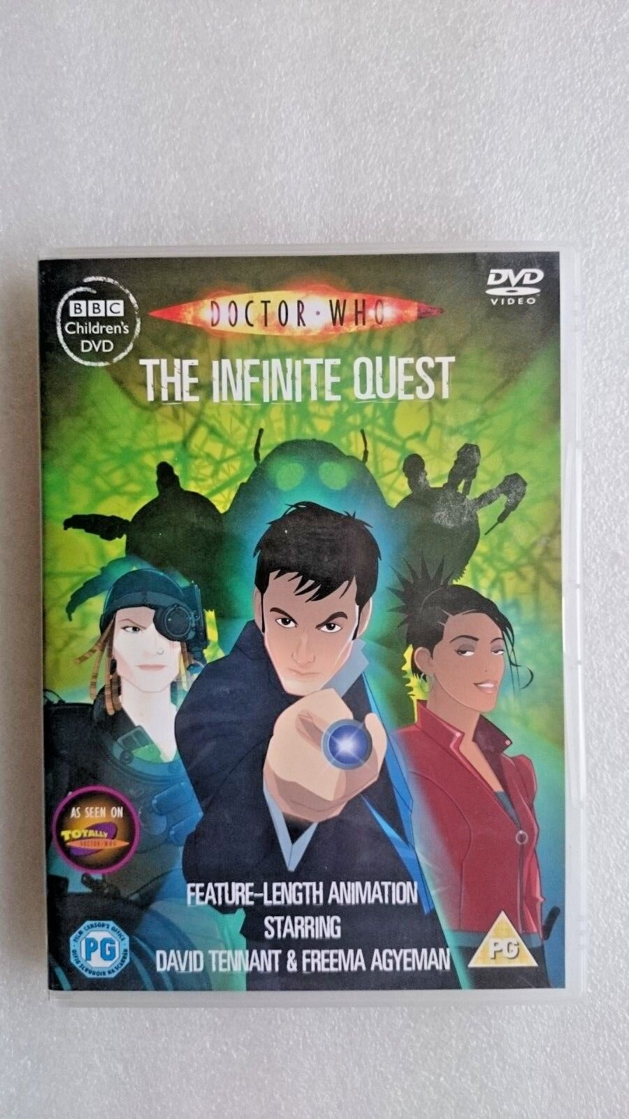 Doctor Who - The Infinite Quest (DVD, 2007)