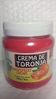 GRAPEFRUIT CREAM 9 OZ CREMA DE TORONJA REDUCTORA 01/2019 MADE IN MEXICO