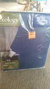NEW block out curtains navy Corinda Brisbane South West Preview
