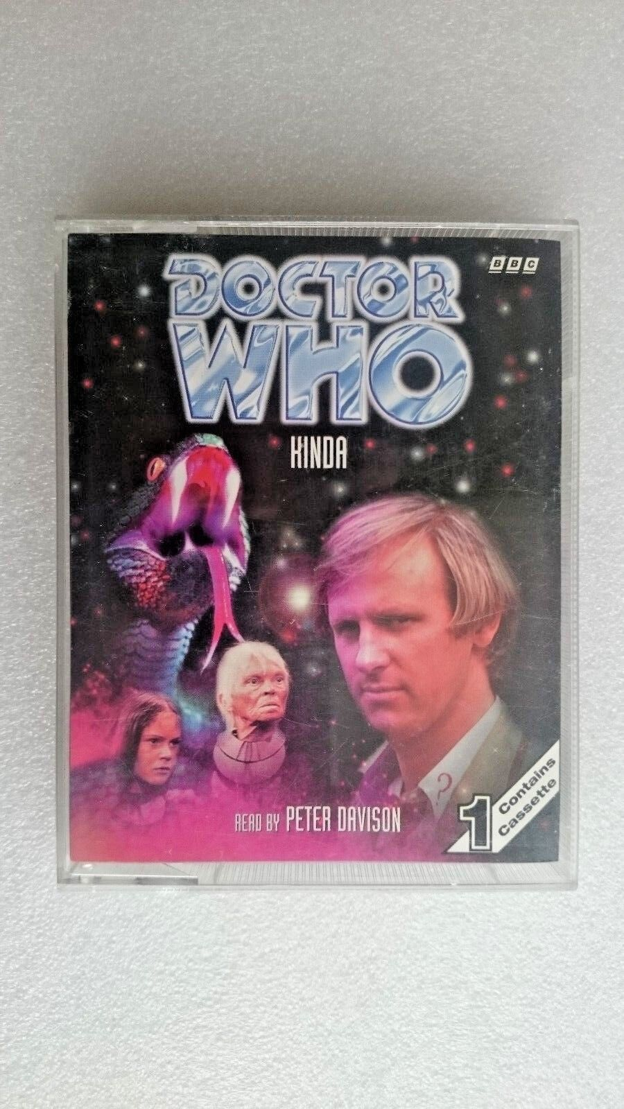 Doctor Who Kinda Audio Book (Cassette 1997) - Peter Davidson