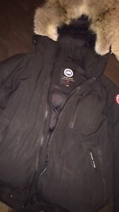 Trading Canada Goose for Youth XL Moose Knuckle Bomber