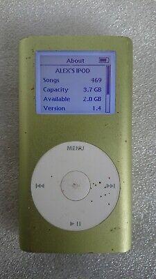 Apple iPod Mini 1st Gen 4GB A1051 Lime Green
