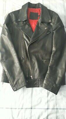 Asos Leather Biker Jacket. Small.