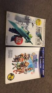 Final Fantasy 7 & Crystal Chronicles strategy guides $40