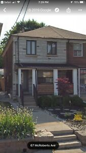 Aug 15th - 3 bed/2 bath/1 parking- Lansdowne/St Clair