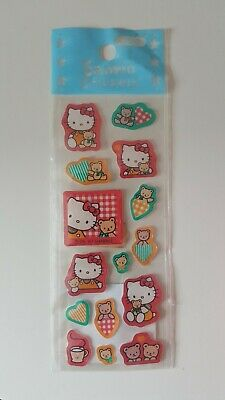 Hello Kitty Rare Vintage Sticker Sheet 1997
