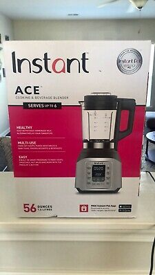 Instant Pot Ace  Cooking and Beverages Home Kitchen 8 Smart One-Touch Blender